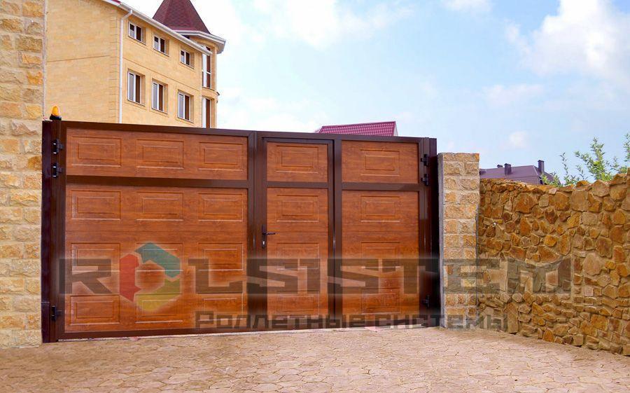 Автоматические ворота в Коммунарке