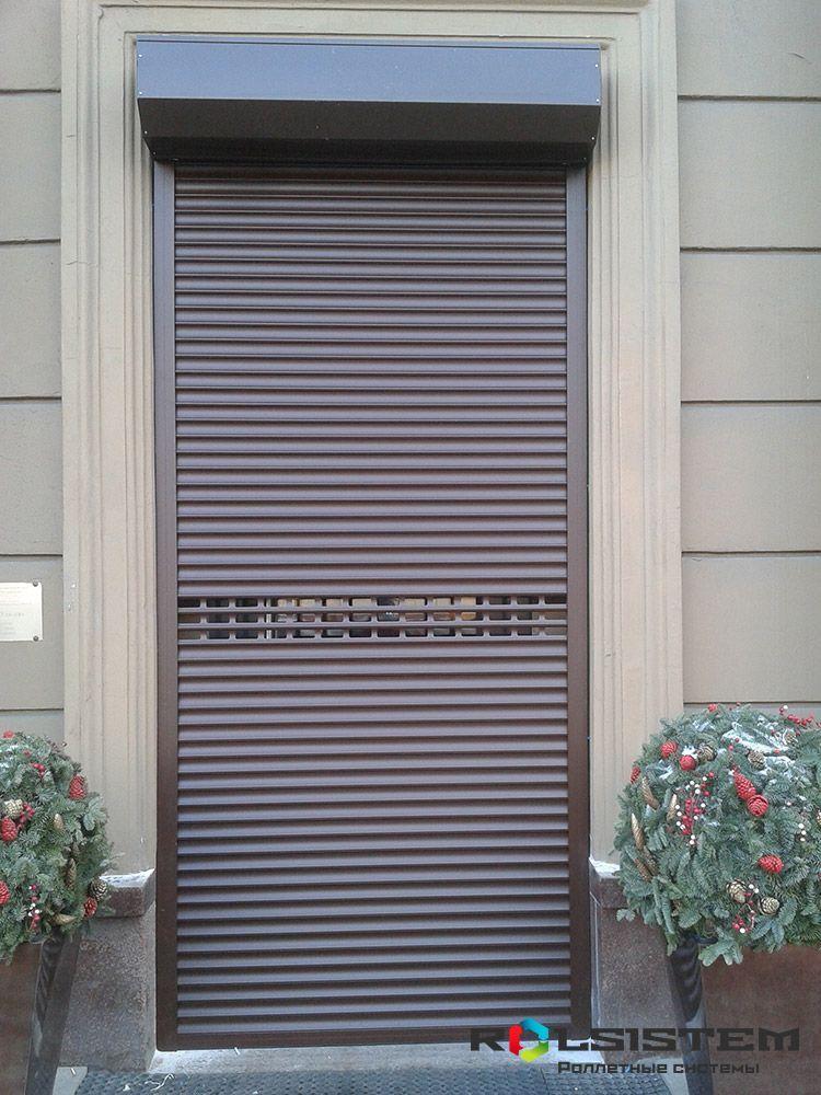 Цена дверные рольставни
