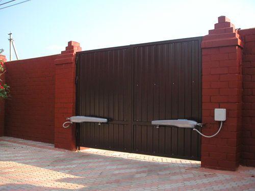 Привод для распашных ворот в Коммунарке