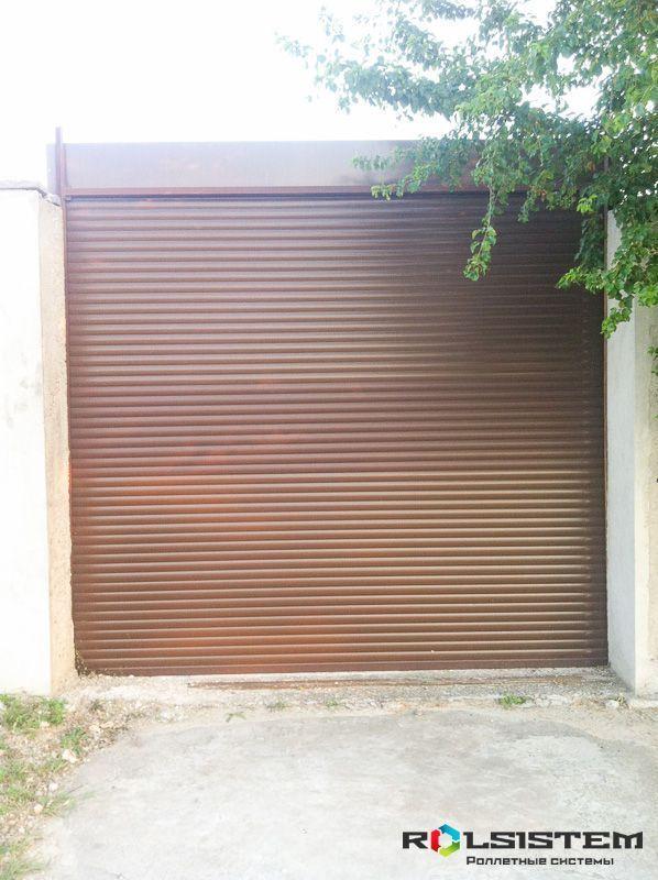 Ворота гаражные подъемные секционные купить в Солнечногорске
